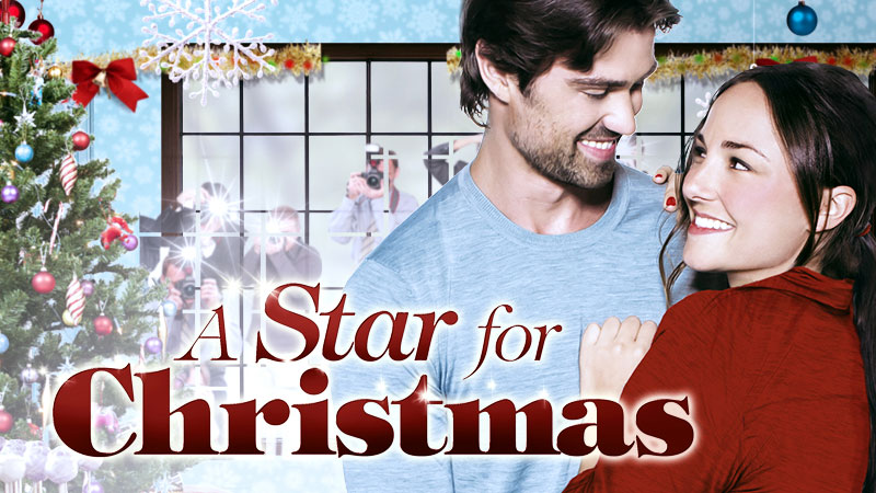 Briana Evigan and Corey Sevier in A Star For Christmas