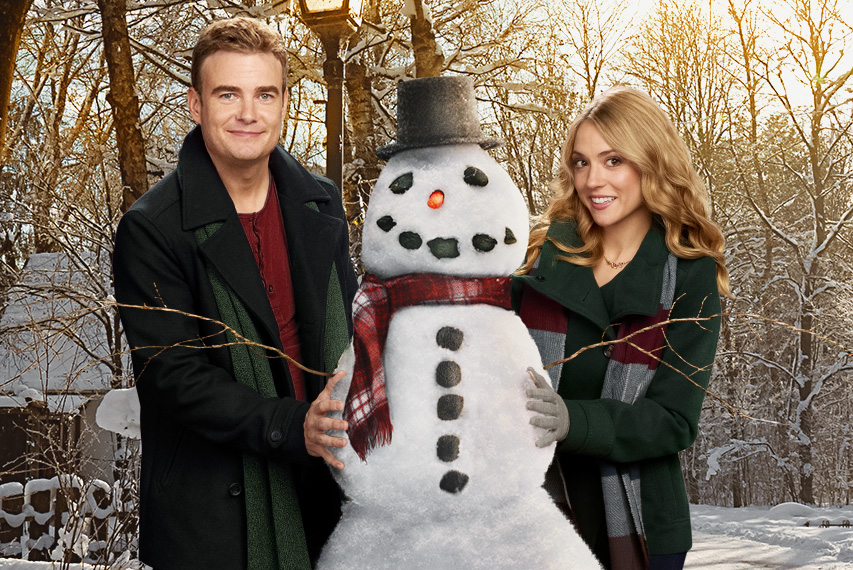 Brooke Nevin and Robin Dunne in On The Twelfth Day Of Christmas