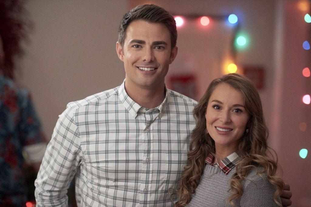 Alexa PenaVega and Jonathan Bennett in Christmas Made To Order