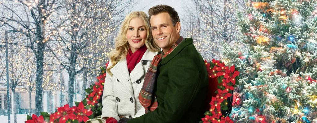 Elizabeth Mitchell and Cameron Mathison in The Christmas Club