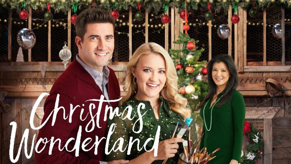Emily Osment and Ryan Rottman in Christmas Wonderland